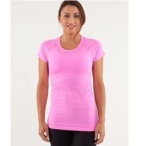 lululemon athletica Tops - Lululemon Run Swiftly Tech Short Sleeve Top